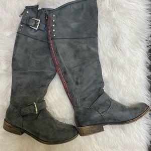 Steve Madden | Madden Girl knee high Crimson Boots